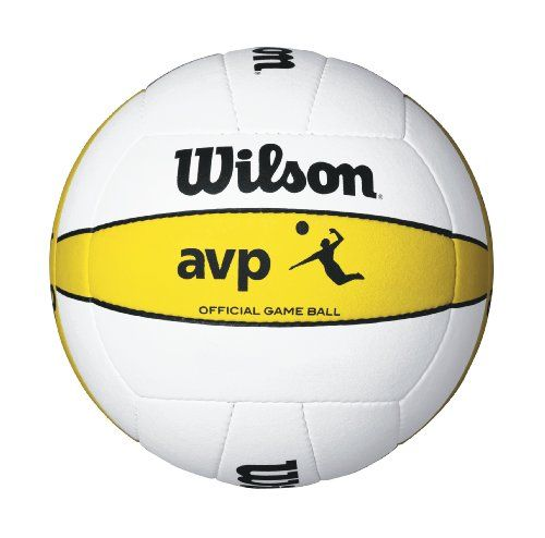 http://www.amazon.com/dp/B00171JNZO/ref=cm_sw_r_pi_dp_txTjtb1ABCQZZMPF      Made to highest specifications and standards of the avp     Official game ball of the AVP     Premium microfiber composite leather cover     18-panel hand sewn contruction     Official game ball of the AVP tour     Butyl rubber bladder for superior rebound and air retention Wilson Official AVP Outdoor Game Volleyball Wilson, http://www.amazon.com/dp/B00171JNZO/ref=cm_sw_r_pi_dp_txTjtb1ABCQZZMPF