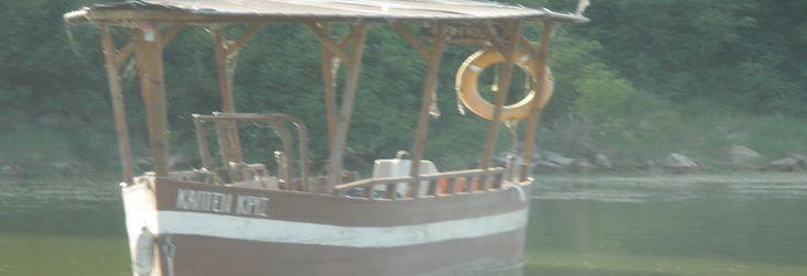 λιμανάκι του Λιθοτόπο πλοιάριο Ο ΙΑΣΩΝ