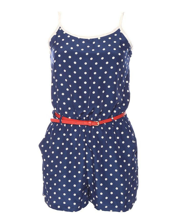SASS | Open Seas Polka Dot Playsuit - Women - Style36