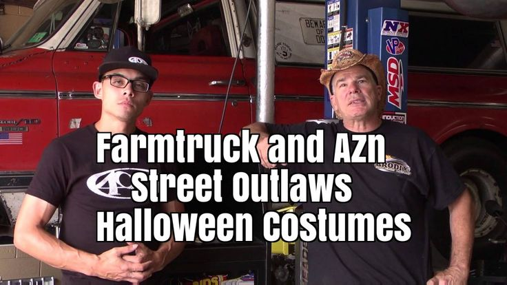 Farmtruck and Azn Street Outlaws Halloween Costumes - Best Costumes for Halloween