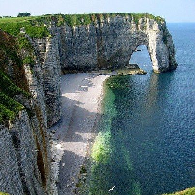 Dorset, England coastline - breathtaking!