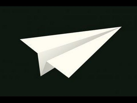 how to make a paper airplane that flies far and straight step by step