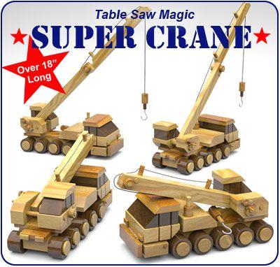 Plan Toys Crane 88