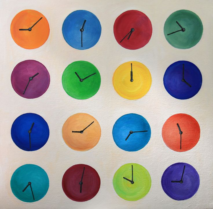 "Ivanov Gallery / Art for sale. ""Time"", Наталия Красноок, 2016. Холст на картоне, масло/50х50см.  «Time», Natalia Krasnook, 2016. Сanvas on cardboard, oil/50х50sm."