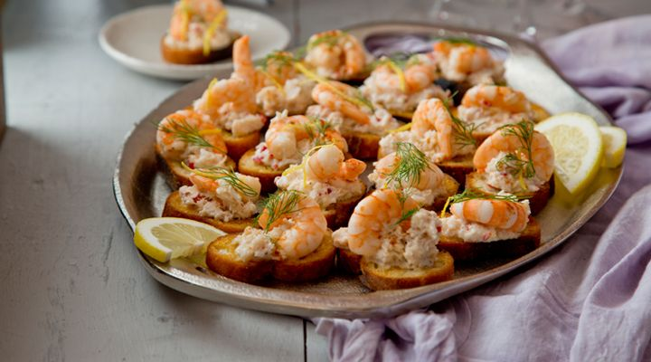 Crab, Prawn and Chilli Toasts #CiaranMcGonagle #GoodFoodKarma #SuperValu #Recipe