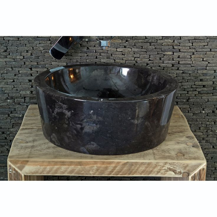 Sink Loyang Bowl Polish Color : Black Size: Ø 40 cm X H. 15 cm Ø 45 cm X H. 15 cm