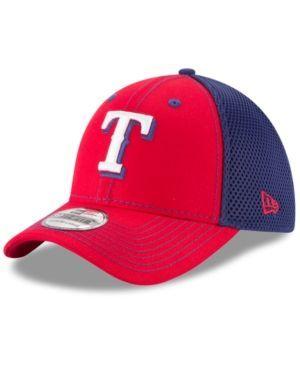 New Era Texas Rangers Team Front Neo 39THIRTY Cap - Blue M/L