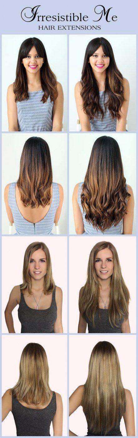 Haarverlängerungen vor und nach Zeichen einclipsen 58 Ideen - #Clip #Erweiterungen #Haar #Ideen #Schilder