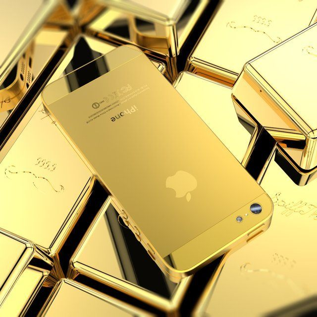 Bling bling la coque iphone 4 gold. Bluffante par sa conception !