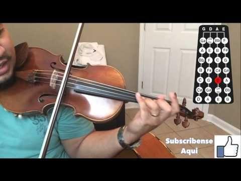 """Como Tocar Violin """"Las Mananitas"""" Pt. 2 (con guia) - YouTube"""