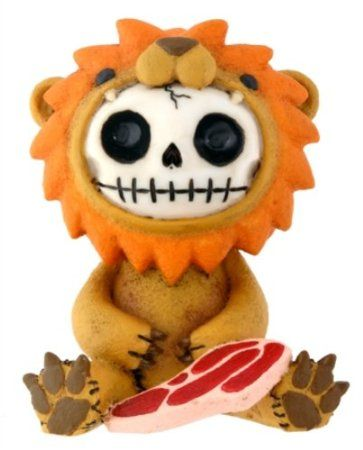 Furry Bones Lion - want.