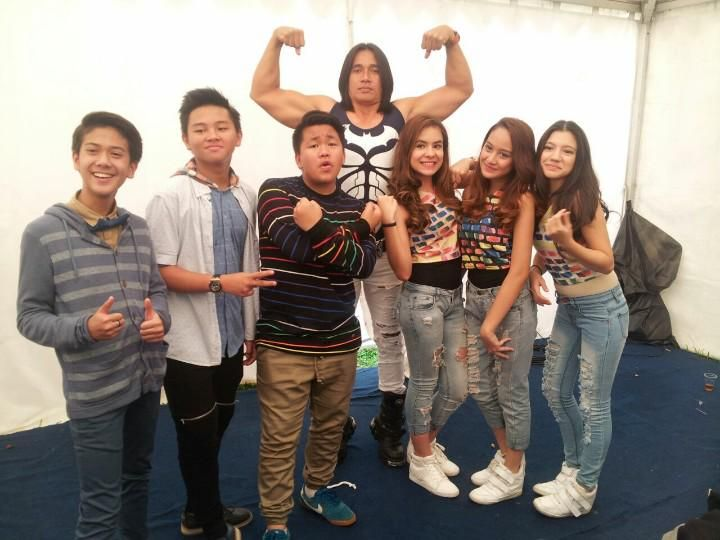 CJR, Elovii And Agung Hercules at Inbox SCTV