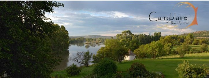 Carryblaire nestles on the banks of the Vaal River...his peaceful yet charming guest house and conference venue  invites the weary traveler.
