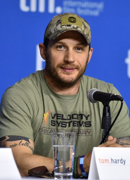 "Tom Hardy Photos Photos: ""The Drop"" Press Conference ..."