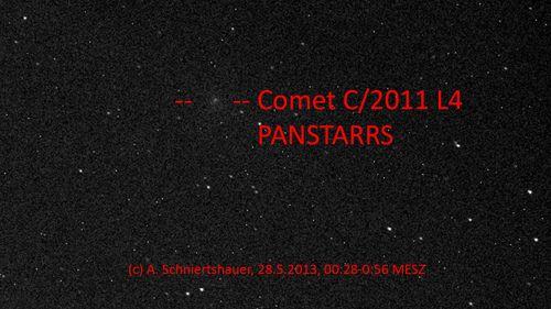 Comet C/2011 L4 (PANSTARRS)