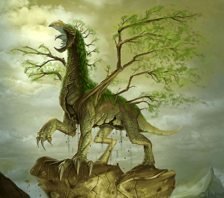Earth Dragon. Dragon of Earth is the key to save Chrysos.