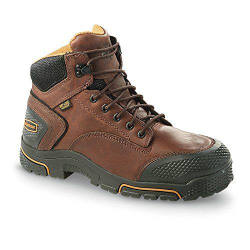 LaCrosse Men's Adamas 6 Inch Steel Toe Work Boot,Brown,10 M US