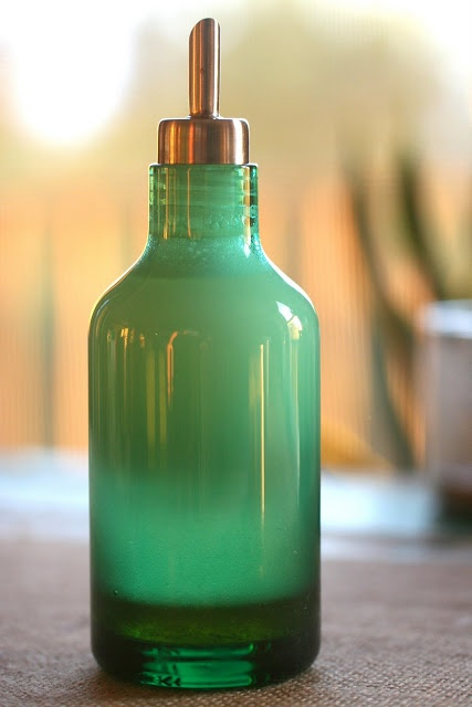 Perfect Shampoo made from castile soap, olive oil, and honey----sounds wonderful---more recipes on this blog