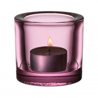 #candle #candleholder #teelicht #kerze #windlicht #iittala #kivi Kivi Windlicht - schlichter Teelichthalter aus Glas von Iittala