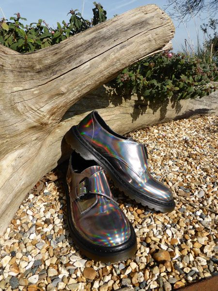 Holographic buckled monk brogue by ASOS. Find out more at http://wightcatwalk.co.uk/the-future-is-now/
