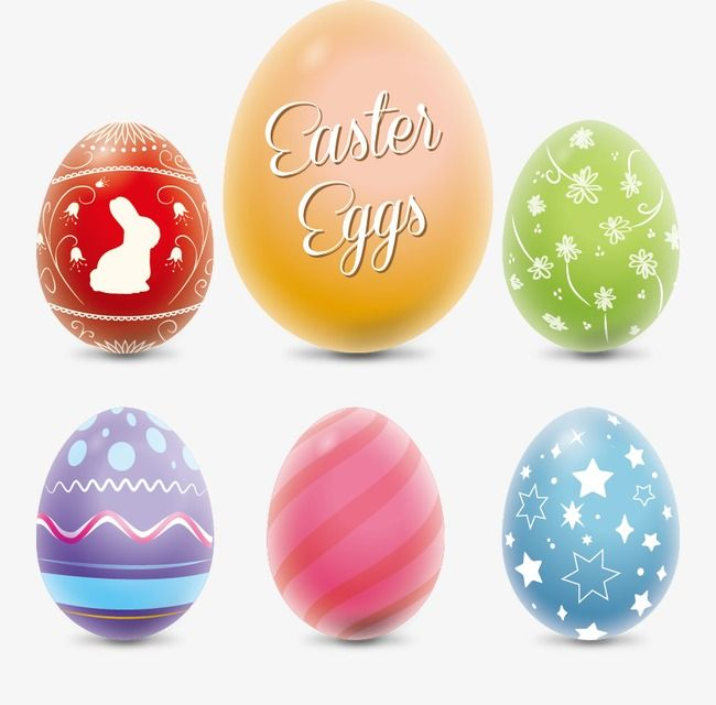 Vector Colorful Easter Eggs Easter Vector Easter Eggs Eggs Png Transparent Clipart Image And Psd File For Free Download Coloring Easter Eggs Easter Eggs Egg Vector