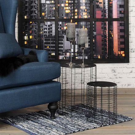 die besten 25 beistelltisch metall schwarz ideen auf pinterest schwarzer teppich sofaecke. Black Bedroom Furniture Sets. Home Design Ideas