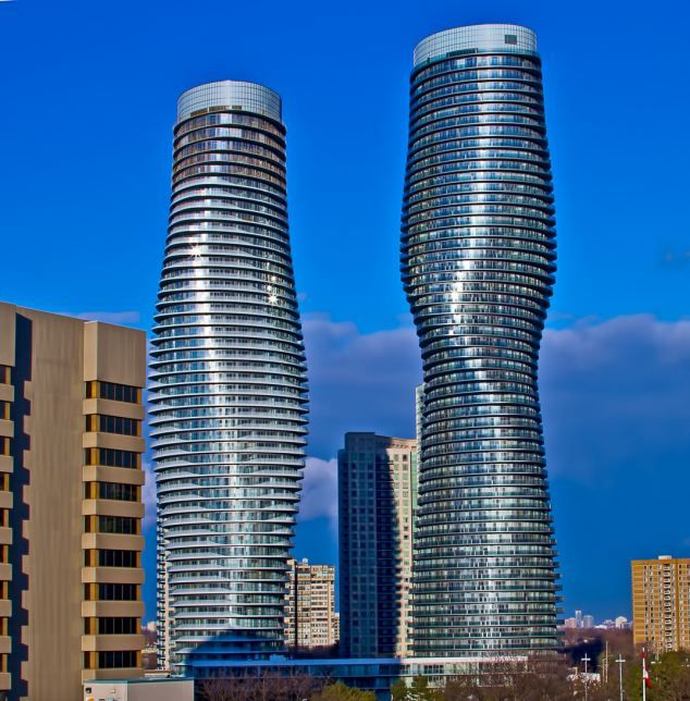 The Absolute Towers in Mississauga, Canada, a fast-growing suburb of Toronto, were named the best tall buildings in the Americas