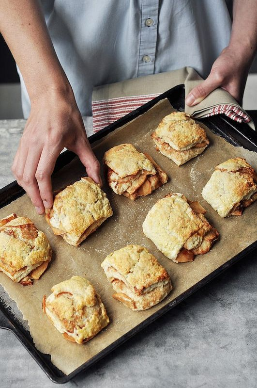 Apple Pie Biscuits / joy the baker