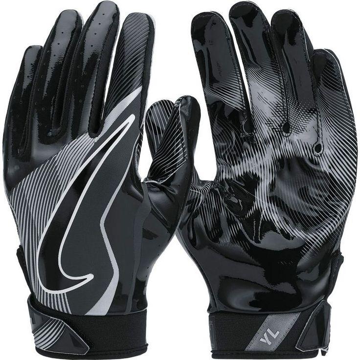 Nike Youth Vapor Jet 4.0 Receiver Gloves, Black