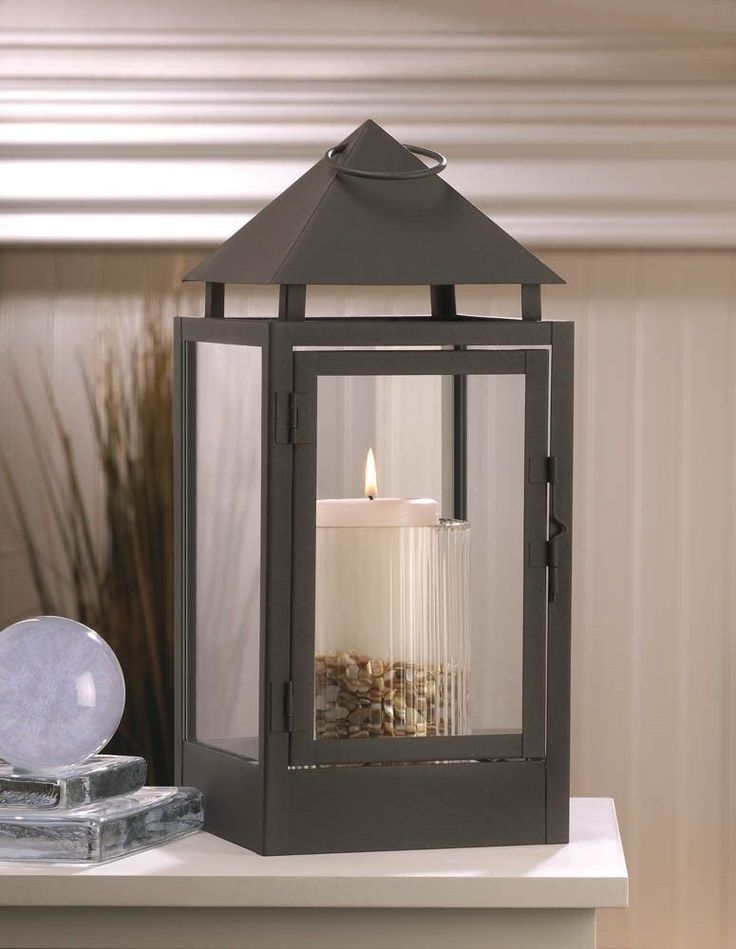 8 MODERN LARGE PINNACLE CANDLE LANTERN TABLE CENTERPIECES DECOR NEW~10015965