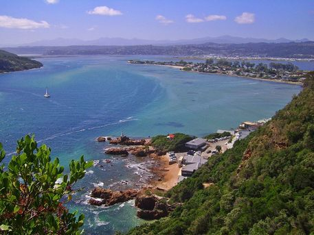 'Lagoon Views at Knysna Heads' by André  Pillay on artflakes.com as poster or art print $16.63  #art  #photography #southafrica