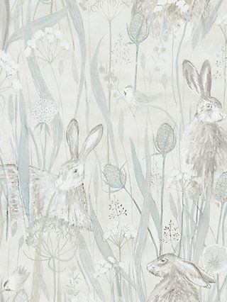 BuySanderson Dune Hares Wallpaper, DEBB216518 Online at johnlewis.com