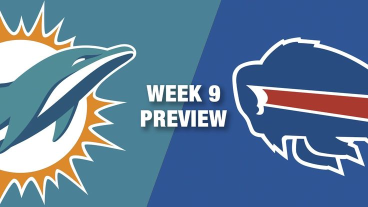 Dolphins vs. Bills Preview (Week 9)   NFL