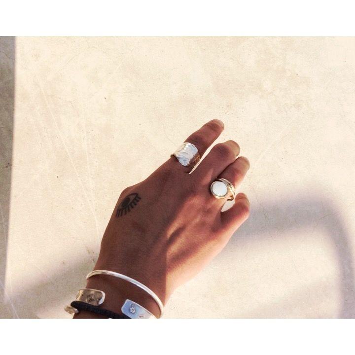 Silver / brass rings nasilia jewelry