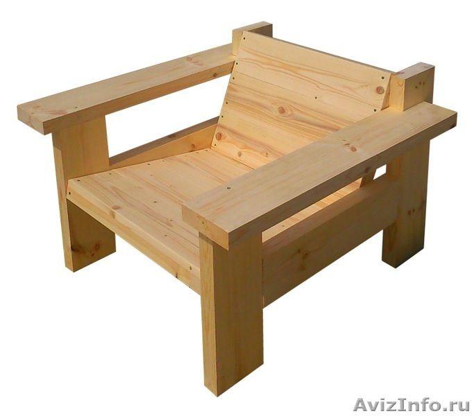 Деревянная мебель для дачи в Краснодаре