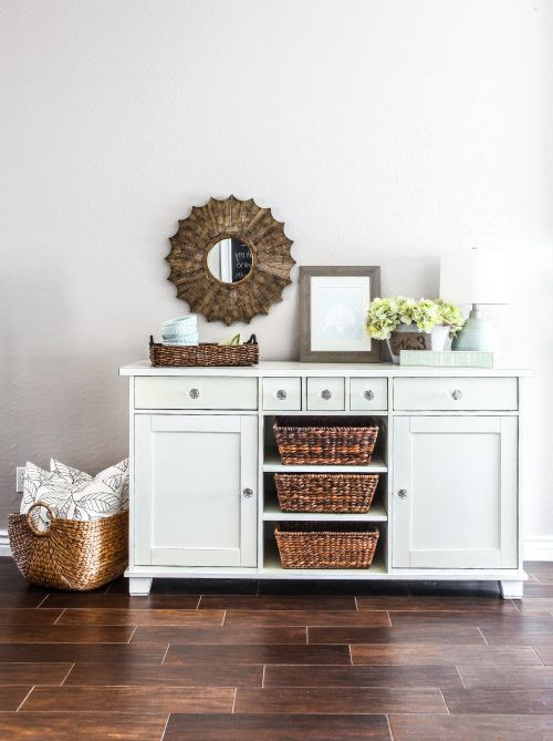 Ikea buffet makeover