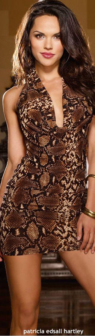 beauty in leopard
