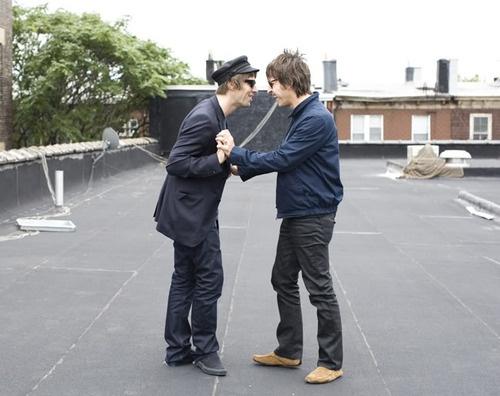 Liam Gallagher and Gem Archer