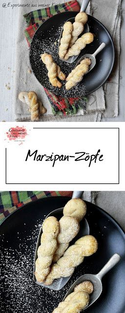 Marzipan-Zöpfe | Rezept | Weihnachtsbäckerei