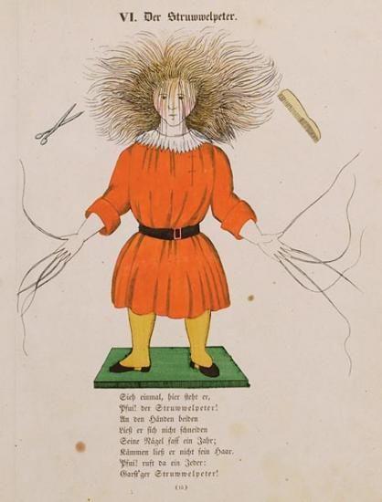 [Der Struwwelpeter]. Lustige Geschichte und drollige Bilder… | Heinrich Hoffmann…