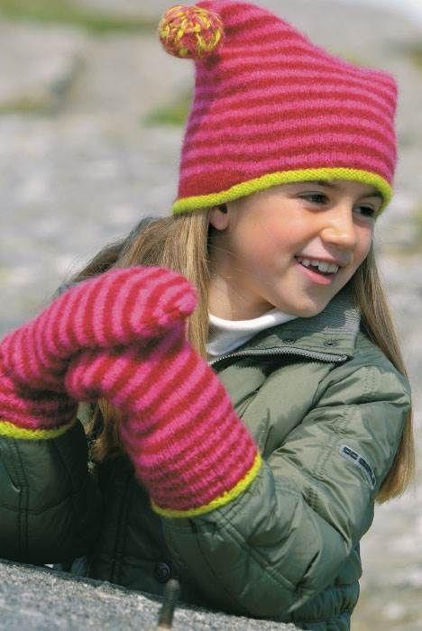 Filtning af f.eks. huer og vanter gør tingene tættere, varmere og mere vindtætte.