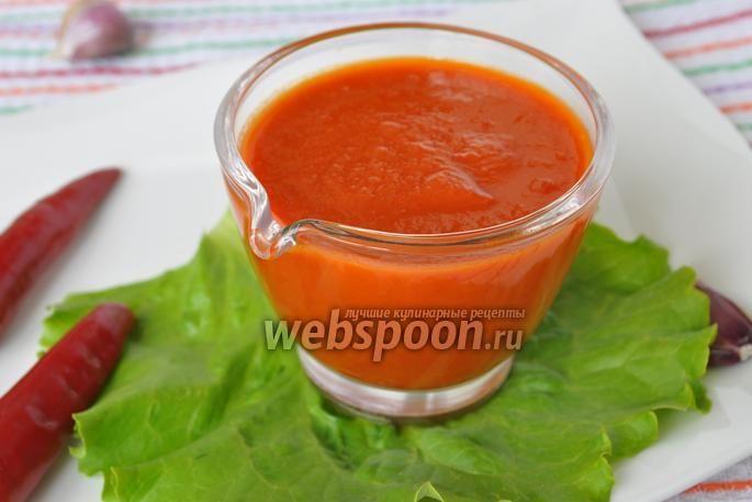 Домашний соус табаско ( для мяса, рыбы и салатов )