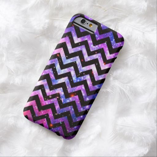 Awesome iPhone 6 Case! Girly Chevron Pattern Cute Pink Teal Nebula Galaxy iPhone 6 Case. It's a completely customizable gift for you or your friends.