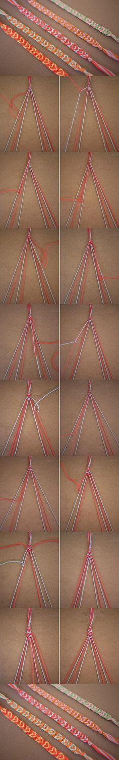 DIY Heart Pattern Bracelet