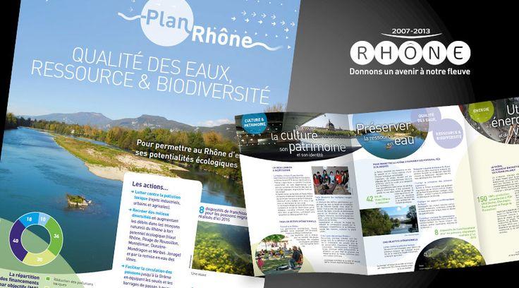 Plan Rhône - plaquette