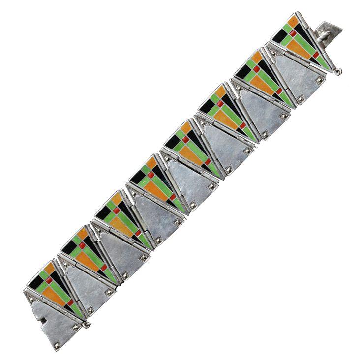 1stdibs - THEODOR FAHRNER Modernist Movement Bracelet explore items from 1,700  global dealers at 1stdibs.com