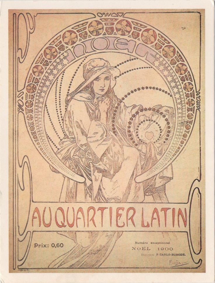 NL-3482871 - Arrived: 2016.06.30   ---   Mucha - Au Quartier Latin v3 (1900)