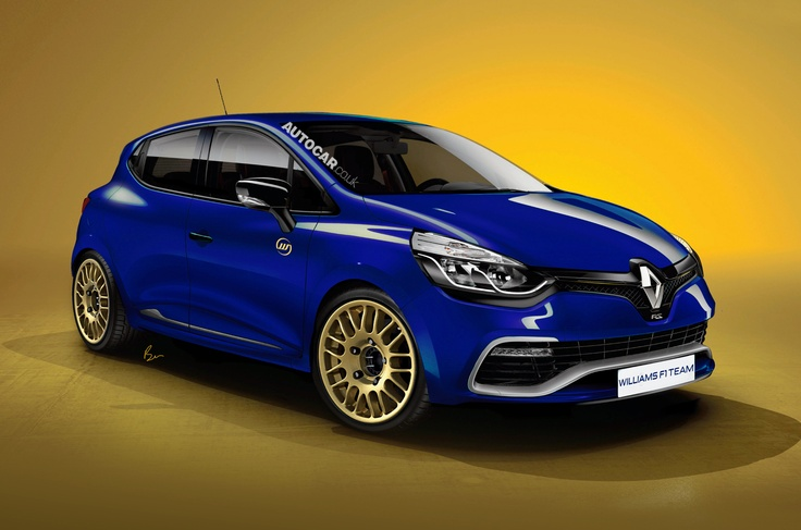 Image of how a 2014 Clio Williams could look.