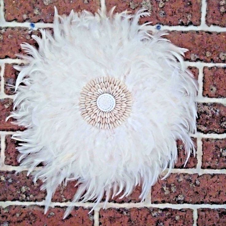 Feather Boho Tribal Juju, White  Feathers Medium size 42-45cm  Home Decor