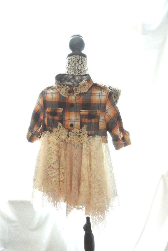 Fall jacket little girls fall dress rustic by TrueRebelClothing, $65.00
